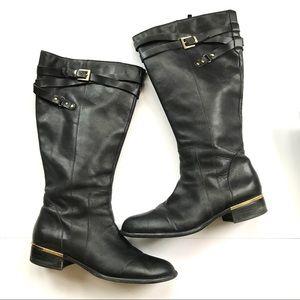 Franco Sarto women's Celeste riding boots wide 10